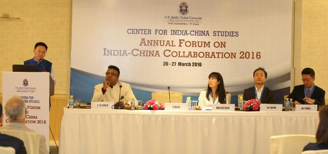Indo-China Collaboration 2016