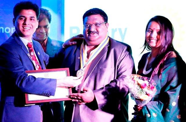 Krishna Mariyanka Chartered in as Rotary Bengaluru Basavanagudi President
