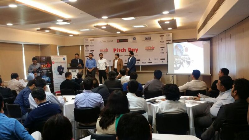 Funds & Angel Investors participates in Venture Catalyst Delhi's Pitch Day