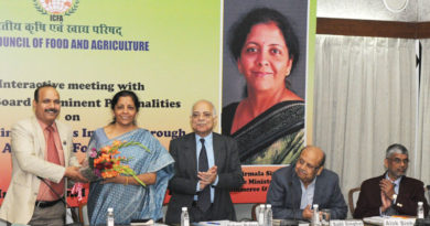 Minister of State for Commerce & Industry (Independent Charge), Smt. Nirmala Sitharaman