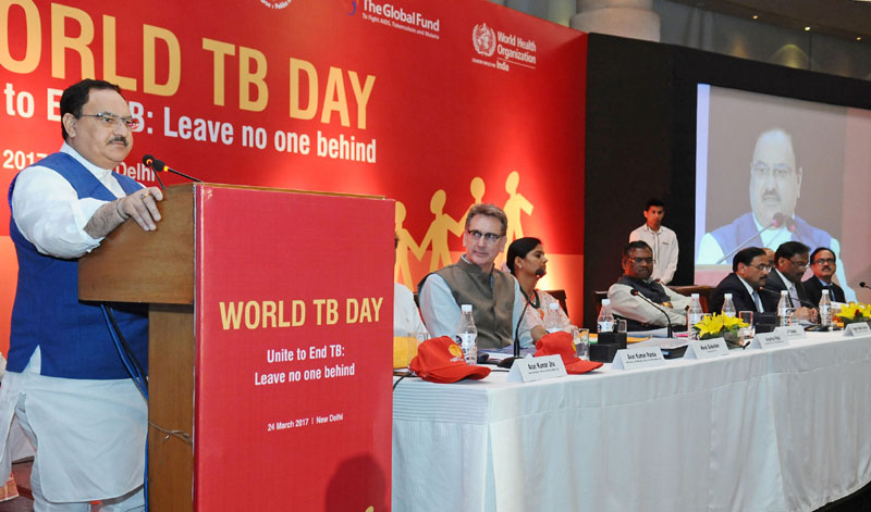 J P Nadda launches new initiatives to combat TB