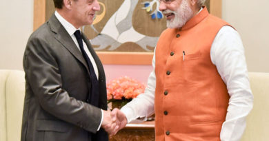 Mr. Nicolas Sarkozy, former President of France, meets PM
