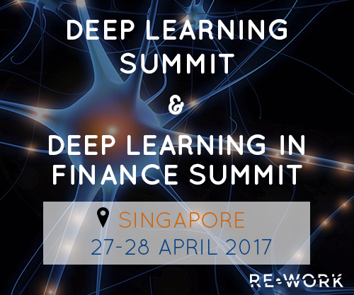 RE.WORK Global Deep Learning Summit Coming to Singapore