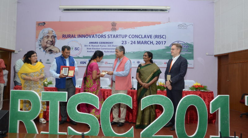 RISC-2017 Awards presented to Indian rural startups and innovators by NIRD&PR