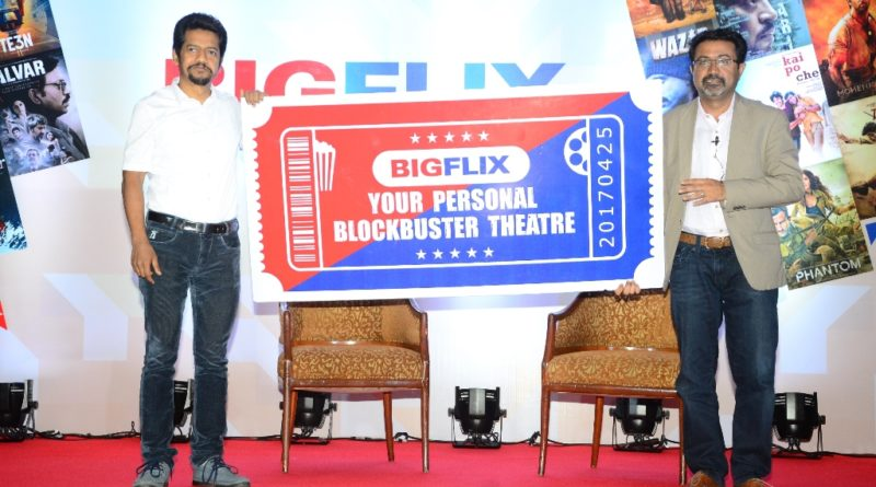 Mr. Shibasish Sarkar, COO, Reliance Entertainment & Mr. Amit Khanduja, CEO, Reliance Entertainment-Digital at BigFlix Launch-1