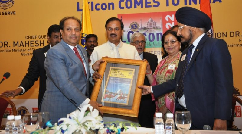 Dr Naresh Aggarwal, First Vice President, Lions Clubs International