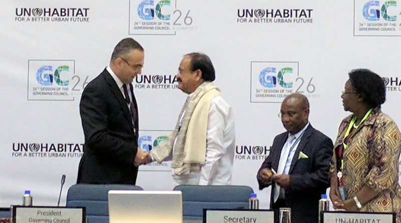 President of Governing Council of UN Habitat