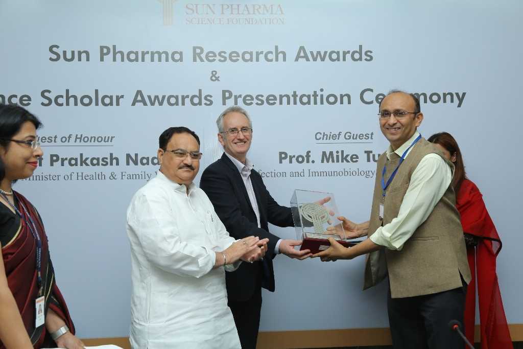 Sun Pharma Science Foundation recognizes Indian scientists & young research scholars