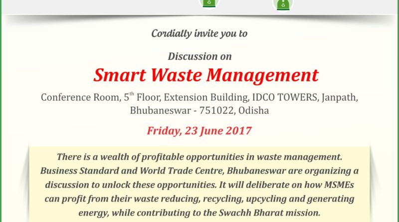 Smart Waste Management WTC Bhubaneswar