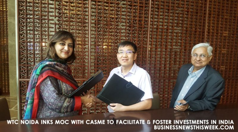 Ms.-Khair-Ull-Nissa-Sheikh-Executive-Director-of-WTC-Noida-and-Mr.-Jun-Shao-Executive-President-of-CASME-Group