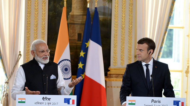 Prime Minister, Shri Narendra Modi, French President, Emmanuel Macron, Paris, International Solar Alliance,