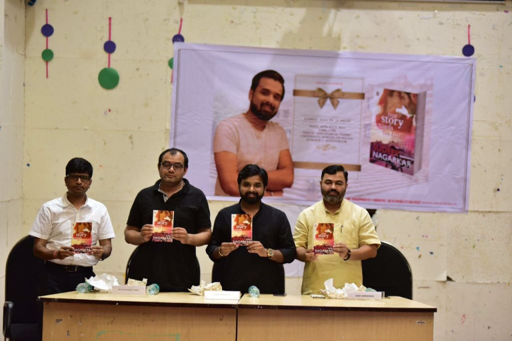 Author Sudeep Nagarkar launches his new book Our Story Needs No Filter