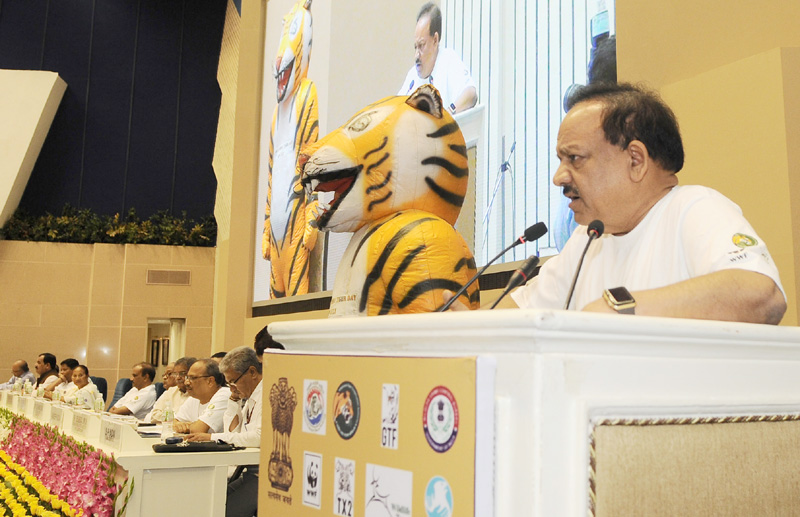 Environment Minister attends Global Tiger Day Celebrations
