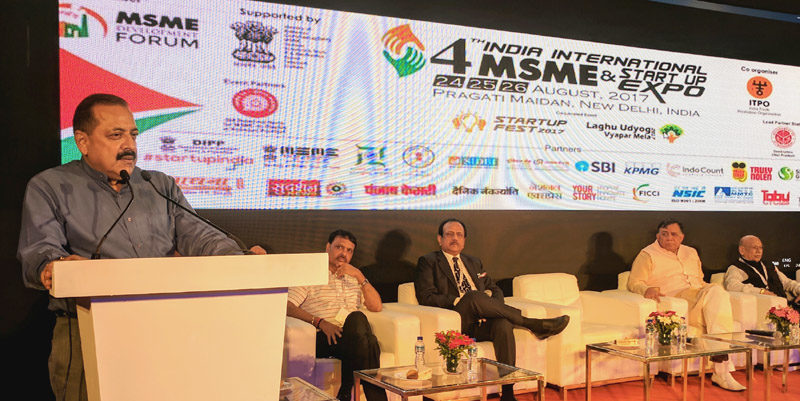 MoS Dr Jitendra Singh calls for indigenous StartUp initiatives