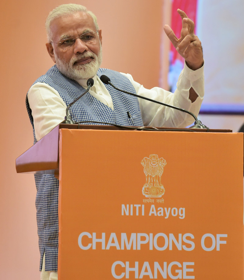 PM addresses Young CEOs at the Champions of Change