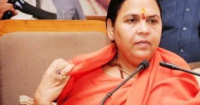 Uma bharti reviews flood Situation, will visit up and Bihar next week