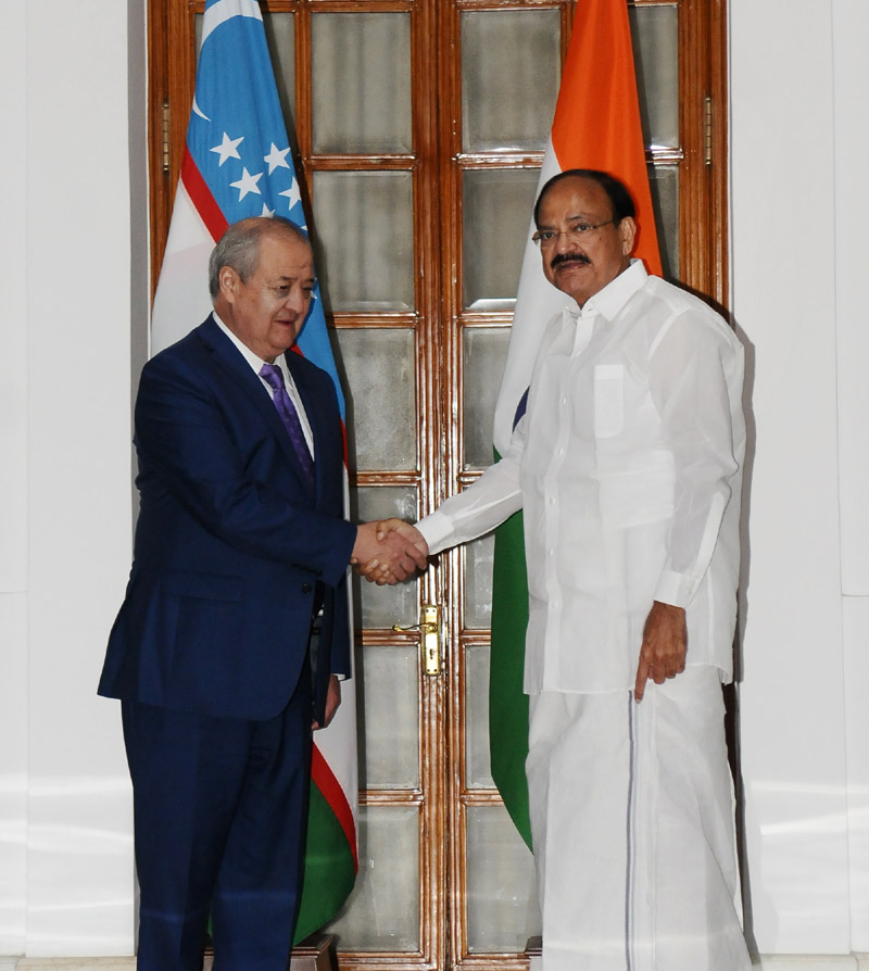 Uzbekistan Foreign Minister calls on Vice President