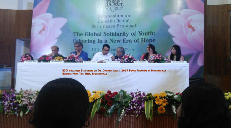 BSG organizes Symposium on Dr. Daisaku Ikeda's 2017 Peace Proposal in Bhubaneswar