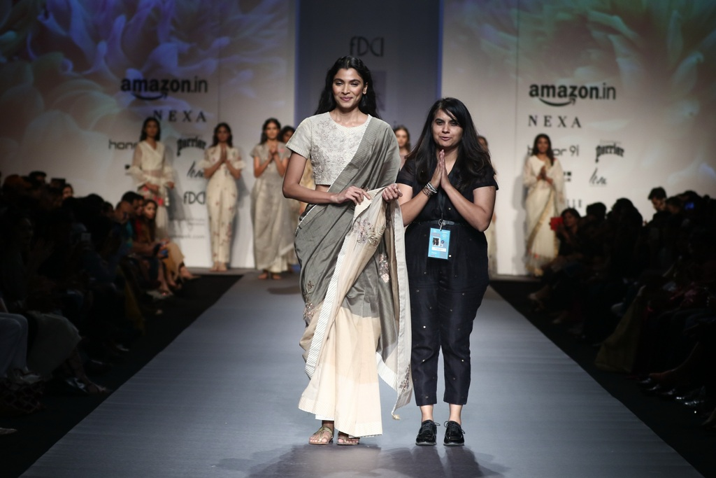 Amazon India Fashion Week Designer Pratimaa Pandey