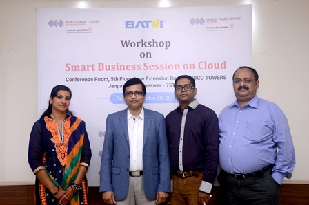 WTC Bhubaneswar workshop Smart Business on Cloud