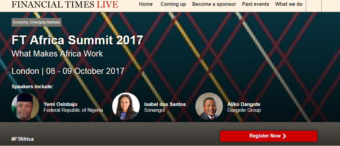 successful business leader Financial Times' 4th annual Africa Summit