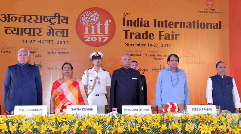 37th edition of the India International Trade Fair 2017