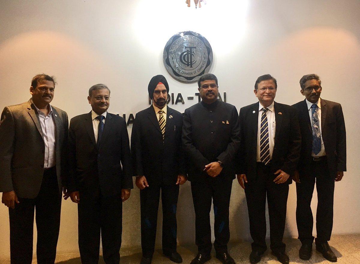 Dharmendra Pradhan concludes 2-day visit to Bangkok