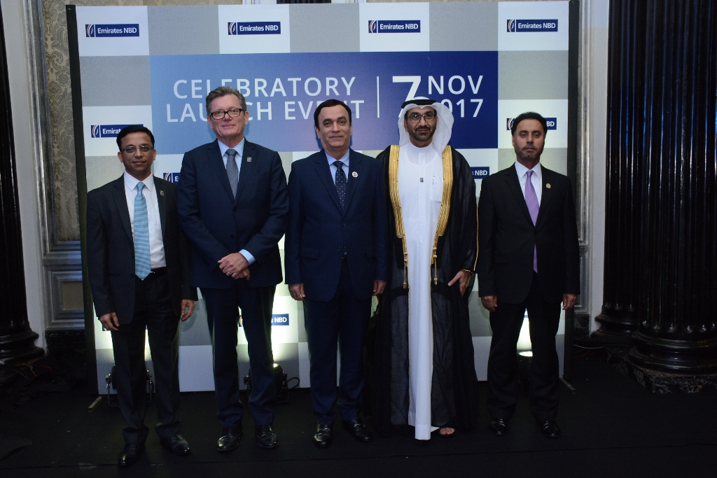 Emirates NBD celebrates first branch in India