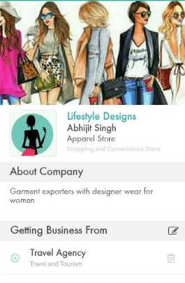 Just Businesses Mobile App Launched