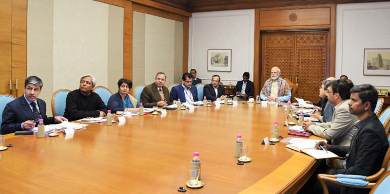 PM Modi reviews steps taken to reduce under-nutrition
