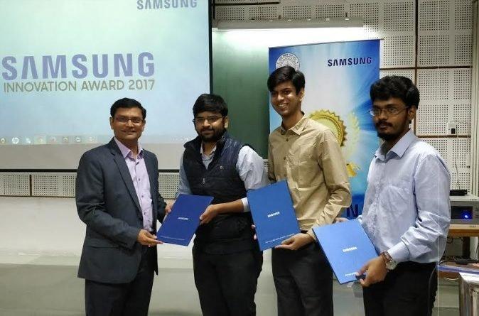 Samsung Innovation Awards 2017 at IIT-Kanpur