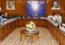 UK MoS (Immigration) talks with Shri Kiren Rijiju