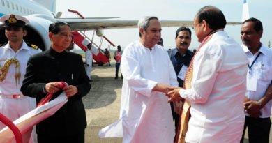 Venkaiah Naidu in Odisha