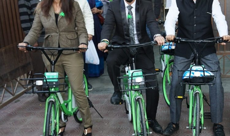 Mobycy flags off India's first-ever dockless bicycles in Delhi NCR