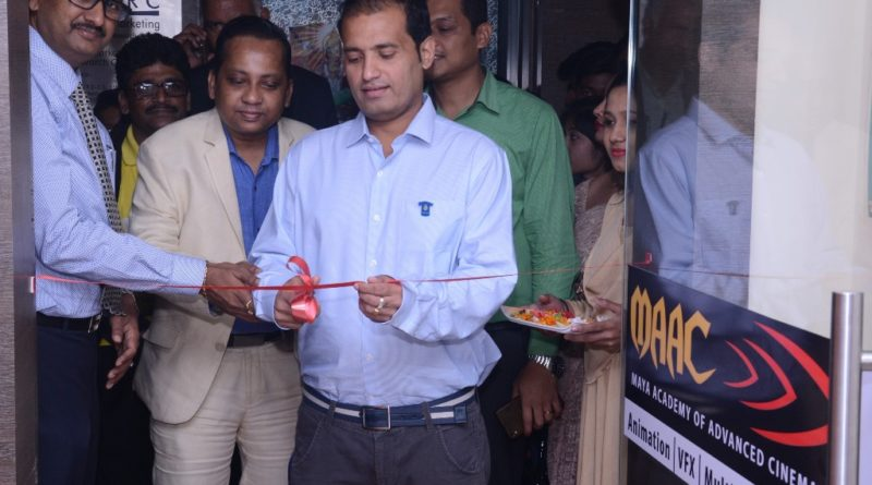 Mr. Shajan Samuel, AVP - MAAC. launching it`s 9th MAAC Centre in Kolkata