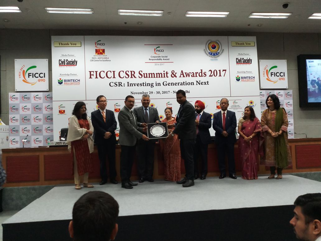 Nuvoco Wins the FICCI CSR Jury Award for Women Empowerment