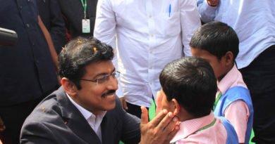 Union Sports Minister Rajyavardhan Singh Rathore in Bhubaneswar