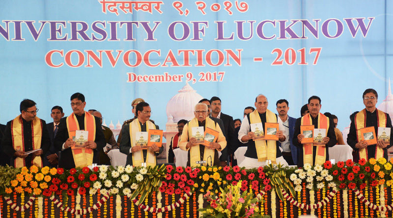 Union Home Minister attends the 60th Convocation of Lucknow University