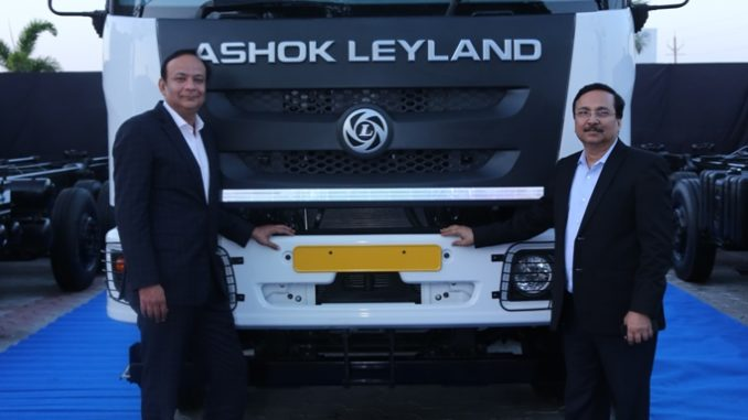 Ashok Leyland Launches Captain Haulage