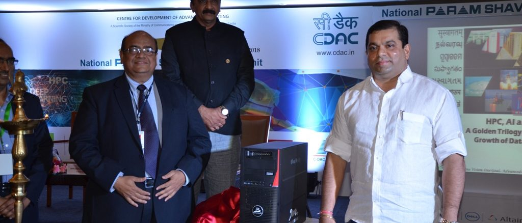 C-DAC launches PARAM Shavak-VR supercomputer