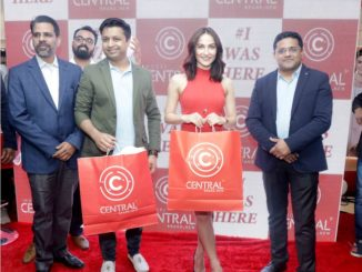 Elli EvrRam at the relaunch of Indore Central HD