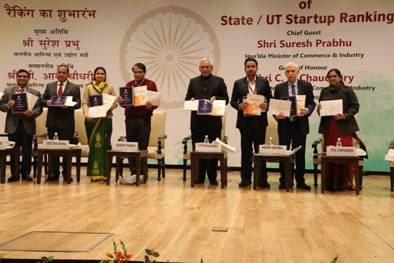 Launch of Startupindia Ranking Framework