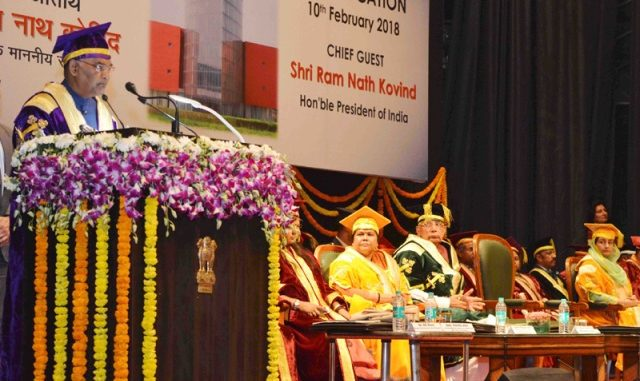 President of India Addresses 1st Convocation of National Institute of Food Technology Entrepreneurship and Management, Sonepat