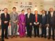 Rahul Sharma Founder Indo - Nippon Golf Cup 2018 with the patrons