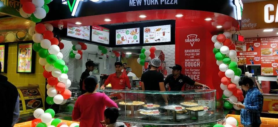 Sbarro at Growels 101 Mall - mumbai