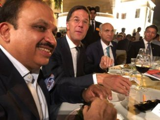 Mr Pankaj M Munjal with Mr Mark Rutte