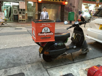 Foodpanda food start-up