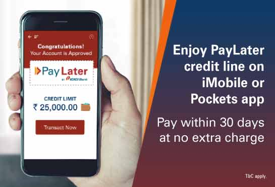 ICICI Bank introduces 'PayLater'