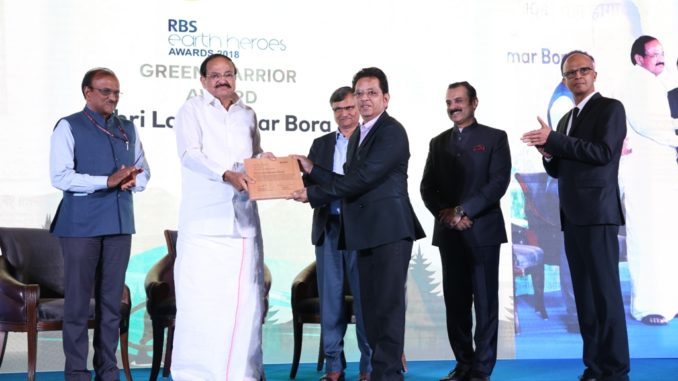 Vice President of India, Shree Venkaiah Naidu felicitates 'RBS Earth Heroes