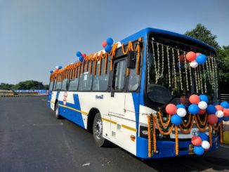 Odisha Business News 'Mo bus' launched in Bhubaneswar